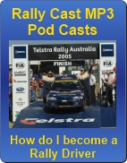 Rally Cast, free MP3 downloads on how to become a rally driver