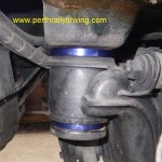 Sub frame lock in place