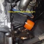 Urethane engine mount installed