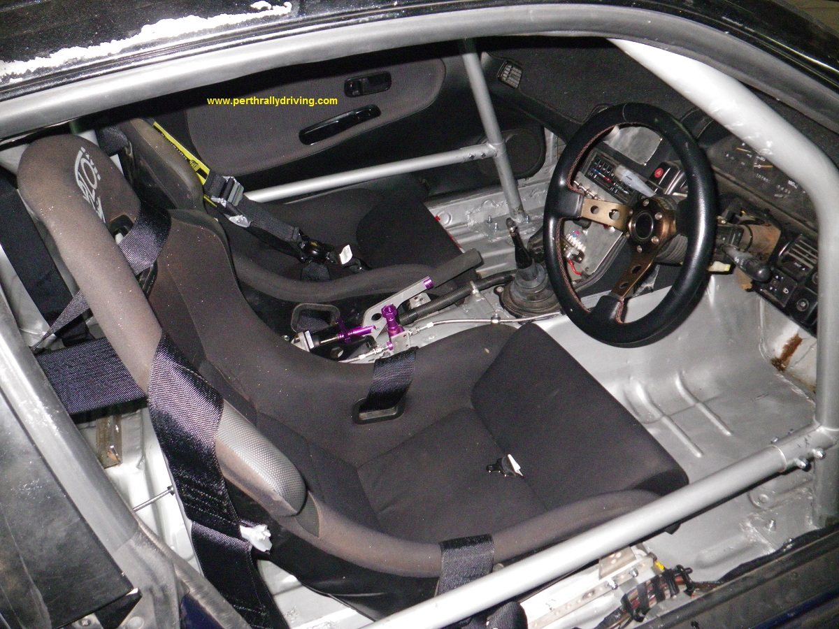 Rally Car Building Interior Works Part 2