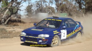 Rally driving Perth