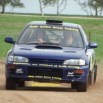 Rally driving Perth Subaru WRX
