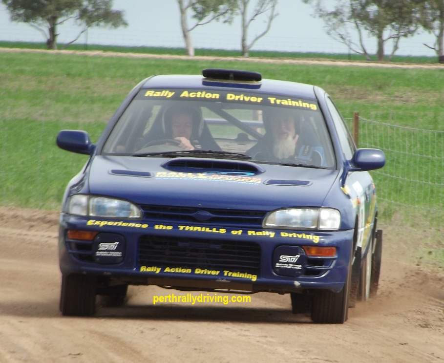 6 Laps of Rally Driving in Perth