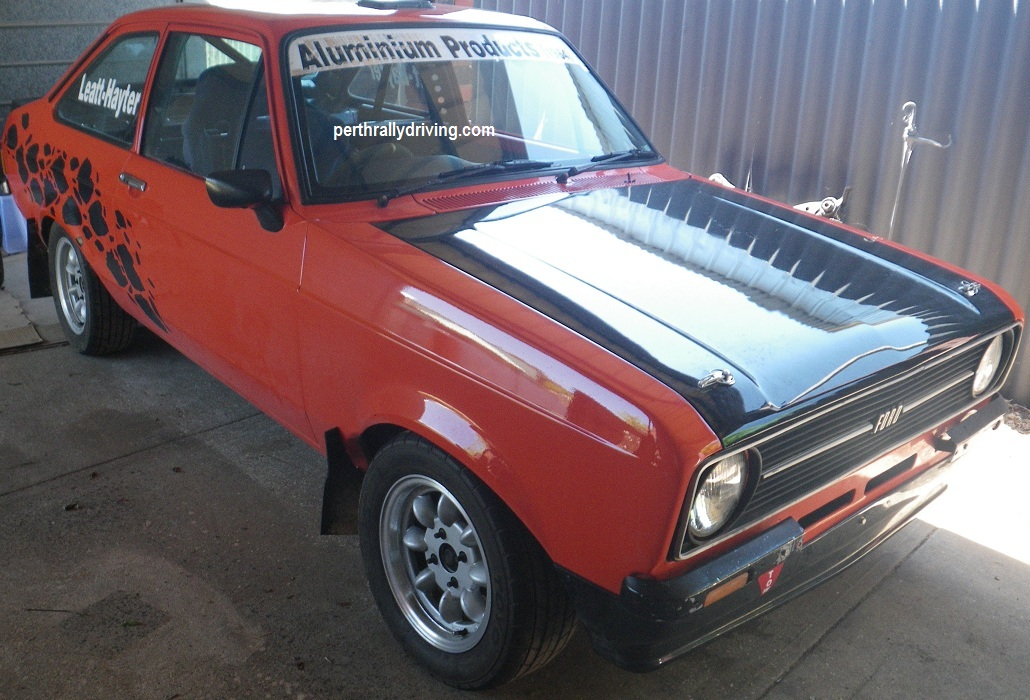 Converting a MK2 Escort from tarmac to gravel spec