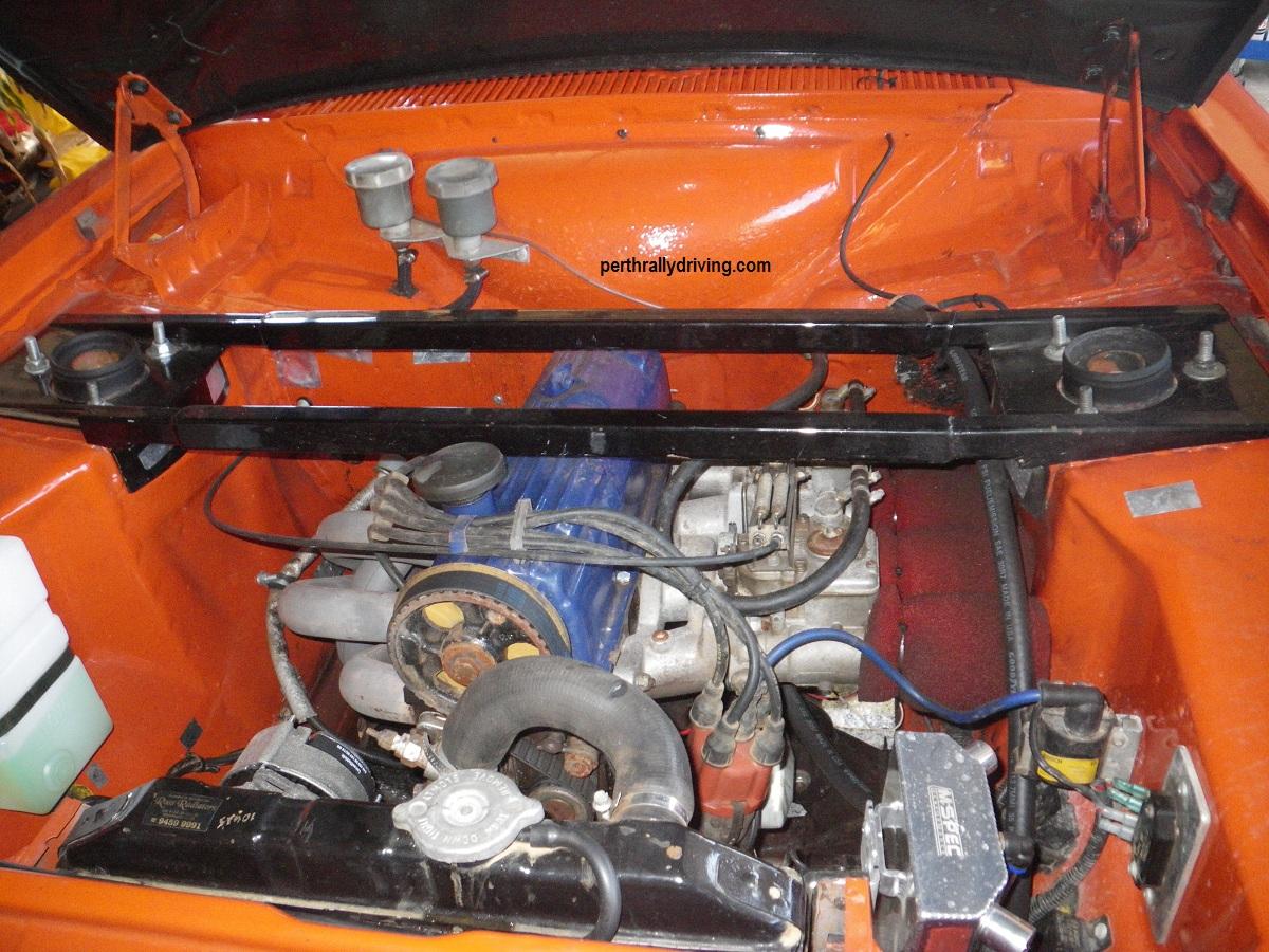 Escort engine rebuild