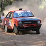 Mark 2 Escort, one the way to 1st place in the Darling 200 rally 2012